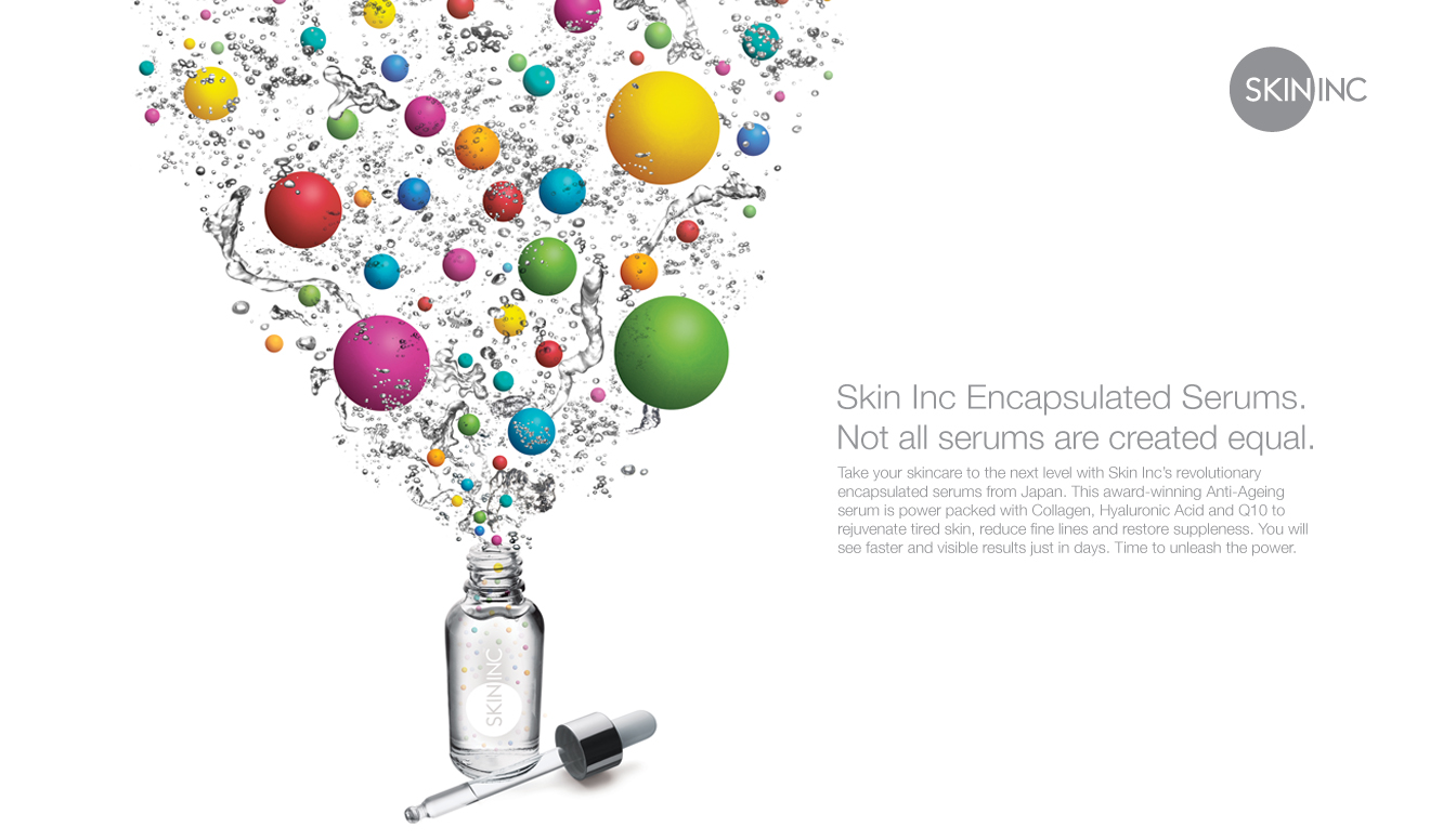 Skin Inc Encapsulated Serums-Print